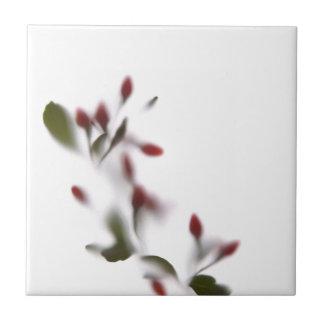 Schattenblumen #2 keramikfliese