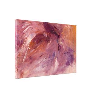 Schatz-abstrakter Kunst-Druck auf eingewickelter Leinwanddruck