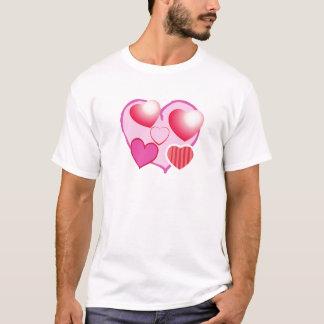 Schatz-Muster: Rosa Thema T-Shirt