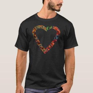 Schatz V4 - Funkelnde rote Reihe T-Shirt
