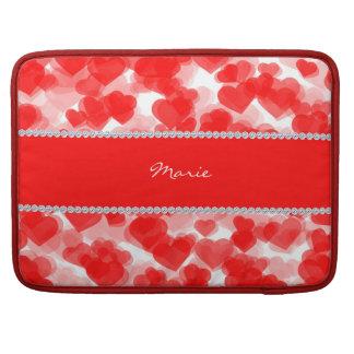 Schatze mit Diamanten und Namen Sleeve Für MacBooks