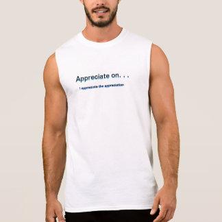 Schätzen Sie Ärmelloses Shirt