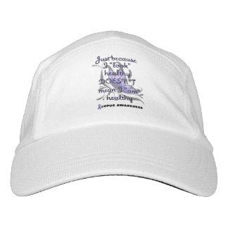 """""""Schauen Sie"""" gesunder/Schmetterling… Lupus Headsweats Kappe"""