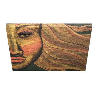 Schauen Sie innerhalb der Acrylmalerei Leinwanddruck
