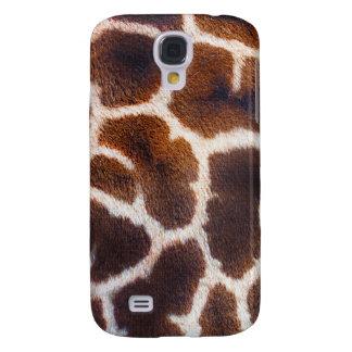 Schauen Sie vom Afrika-Giraffen-Hauteffekt Galaxy S4 Hülle