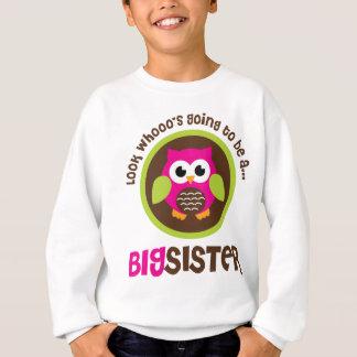 Schauen Sie Whoos, das geht, eine große Sweatshirt
