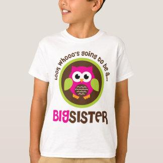 Schauen Sie Whoos, das geht, eine große T-Shirt
