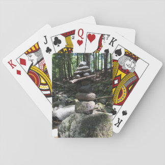 Schaukeln Sie die Rock-Balancen-Spielkarten Spielkarten