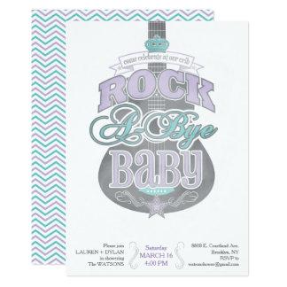 Schaukeln Sie eine abgelegene Babyparty-Einladung 12,7 X 17,8 Cm Einladungskarte