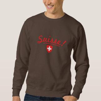Schaukeln Sie Ihre Nation - Suisse! Sweatshirt