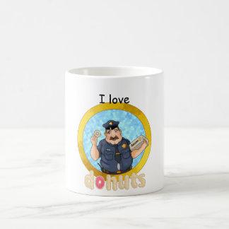Schaumgummiringe der Liebe I Kaffeetasse