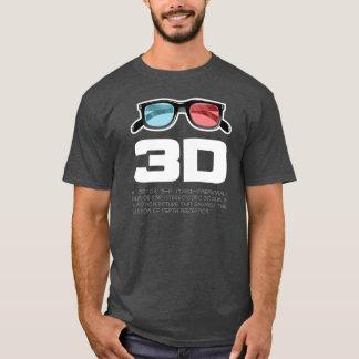 Schauspiel 3d T-Shirt