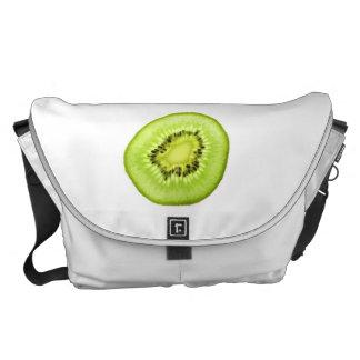 Scheibe der Kiwi. Bote-Tasche Kurier Tasche