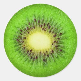 Scheibe der Kiwi Runder Aufkleber