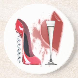 Scheidung Celetration Korkenzieher und Champagne Getränkeuntersetzer