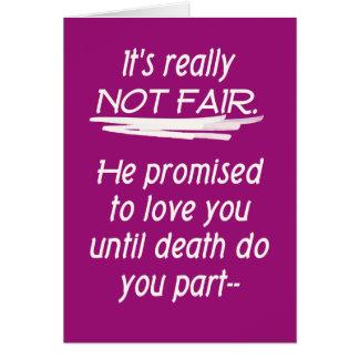 Scheidung nicht ehrlich karte