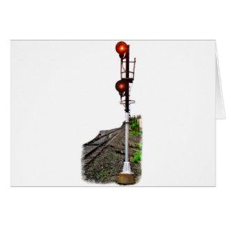 Scheinwerfer-Signal Karte