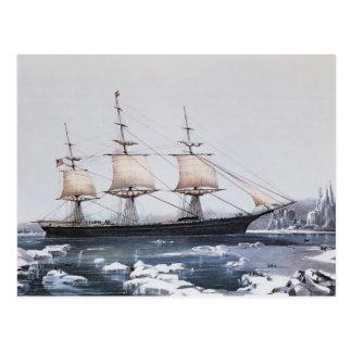 "Scherer-Schiff ""rote Jacke "" Postkarte"