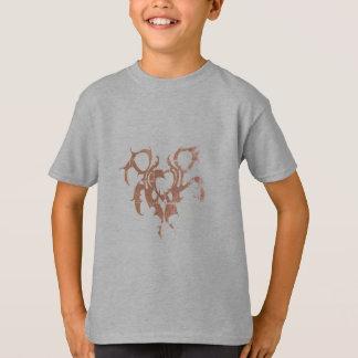 scherzt hanes tagless T - Shirtgrau T-Shirt