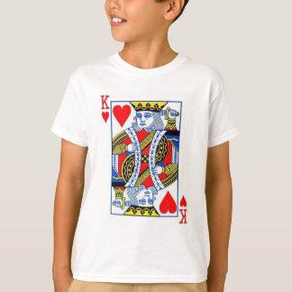 Scherzt König Of Heart T-Shirt