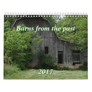 Scheunen der letzten 2017 Kalender-können Jahr Wandkalender