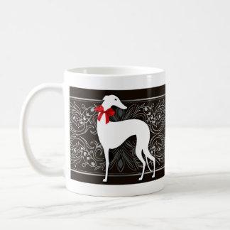 Schicke Windhunde Kaffeetasse