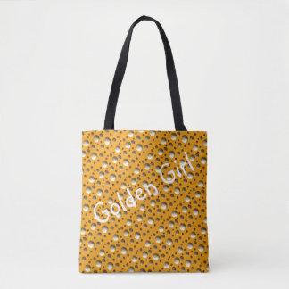 Schickes Gold punktiert Tasche für Strand oder das Tasche