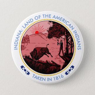 Schicksal versiegelt runder button 7,6 cm