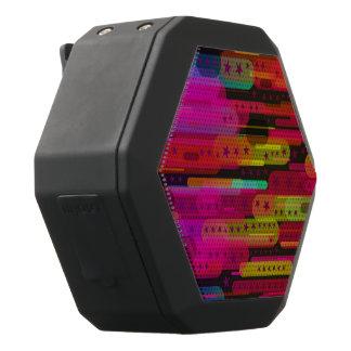 Schieben des Stern-abstrakten Musters Schwarze Bluetooth Lautsprecher