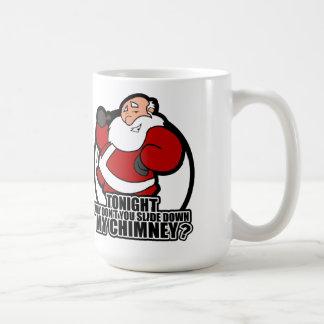 Schieben hinunter Sankt Kamin Kaffeetasse