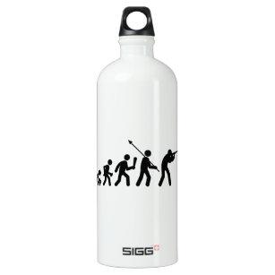 Schießen Aluminiumwasserflasche