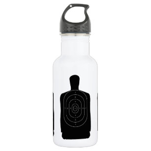 Schießen Trinkflasche