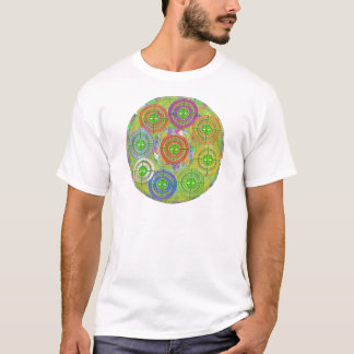 Schießübungen - neun perfekte Ovale der Kreis-n T-Shirt
