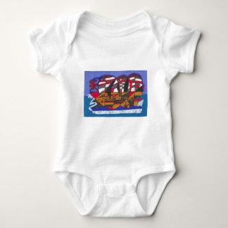 Schiff Baby Strampler