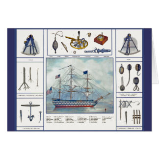 Schiff u. Möbel Grußkarte