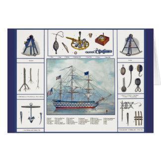 Schiff u. Möbel Karte