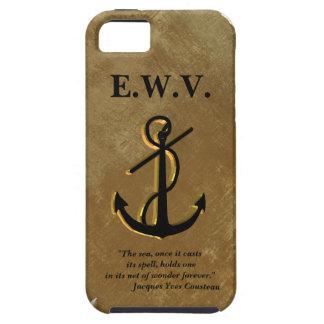 Schiffe verankern auf Pergament Iphone 5 Fall iPhone 5 Schutzhüllen
