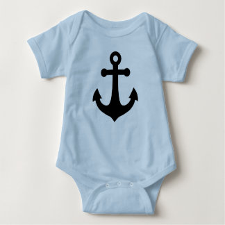 Schiffs-Anker Baby Strampler