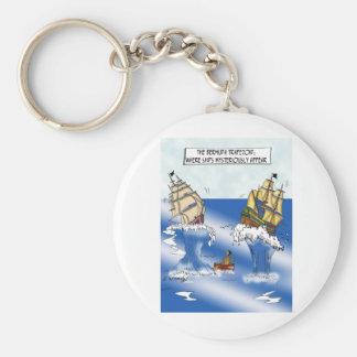 Schiffs-Cartoon 9382 Schlüsselanhänger