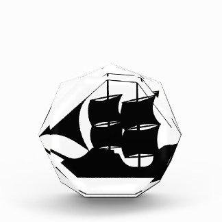 Schiffs-Silhouette Auszeichnung
