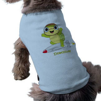 Schildkröte Dreamer™ HundeTrägershirt Ärmelfreies Hunde-Shirt