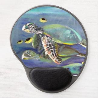 Schildkröte-Duo Gel Mousepad