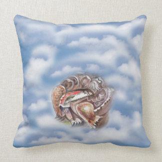 Schildkröte in der Wolke Kissen