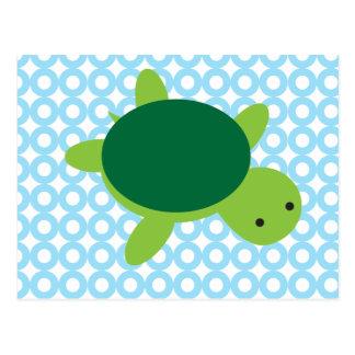 Schildkröte Postkarte