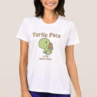 Schildkröte-Schritt T-Shirt