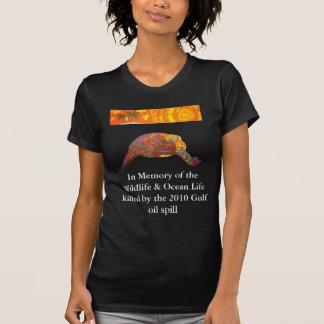 Schildkröte - zum Gedenken an das Tier-u. Ozean-Le T Shirts