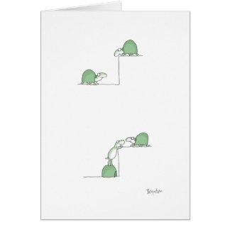 Schildkröten Grußkarte