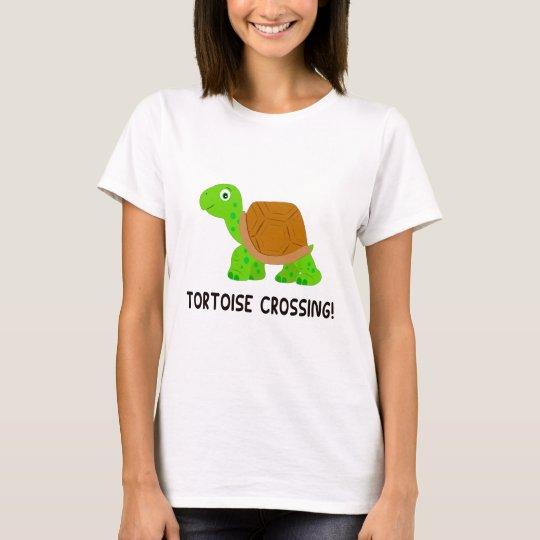 Schildkröten-Überfahrt T-Shirt