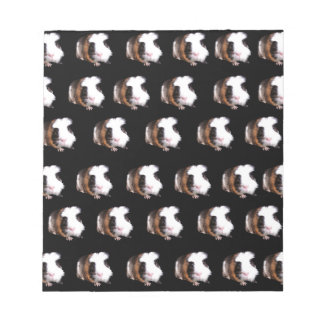 Schildpatt-Meerschweinchen-Muster, Notizblock