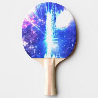 Schillernder Pariser Himmel Tischtennis Schläger
